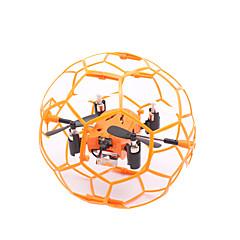 Drón M70 4 Csatorna 6 Tengelyes - LED Világítás 360 Fokos Forgás Lebeg RC Quadcopter Távirányító 1 Töltőállomás 1 USB kábel 1 Csavarhúzó