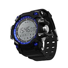 Inteligentny zegarekWodoszczelny Długi czas czuwania Spalone kalorie Krokomierze Rejestr ćwiczeń Sportowy Wielofunkcyjne Informacje