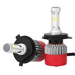 tanie Światła samochodowe-H4 36w / szt. 7200lm zestaw reflektorów high low beam wymienne halogenowe ksenonowe csp reflektory ledowe żarówki LED z 2 zestawami do