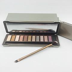 voordelige ogen-12 Oogschaduwpalet Mat / Glinstering Oogschaduw palet Others Normaal Dagelijkse make-up / Smokey make-up