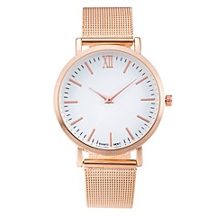 cheap Women's Watches-Women's Quartz Wrist Watch Chinese Cool / Casual Watch Stainless Steel Band Casual / Minimalist / Fashion Black / Silver