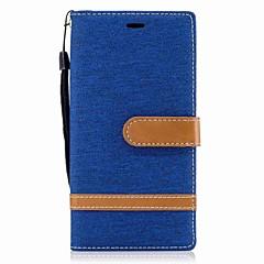Voor Sony Xperia xa1 case cover kaarthouder portemonnee met standaard flip magnetisch full body case hard textiel voor Sony Xperia XZ