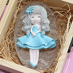 Beautiful Girl Mold DIY Silicone Soap Candle Mold Handmade Soap Salt Carved DIY Silicone Food Grade Silicone Mold