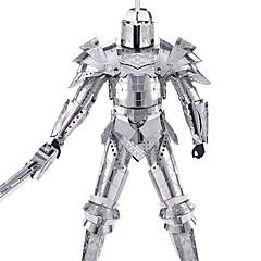 ieftine -Puzzle 3D Puzzle Puzzle Metal Μοντέλα και κιτ δόμησης Jucarii Războinic 3D Reparații Teak Aliaj Metalic Oțel inoxidabil MetalPistol Unisex