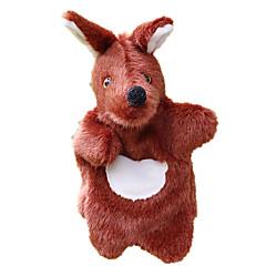 abordables Marionetas-Marionetas Marioneta de Mano Canguro Bonito Encantador Felpa Niños Chica Juguet Regalo