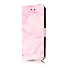 Недорогие Кейсы для iPhone 5-чехол для iphone iphone x iphone 8 держатель карты кошелек флип магнитные чехлы для всего тела мрамор твердая кожа pu для iphone 8 плюс 7 7 плюс 6 6