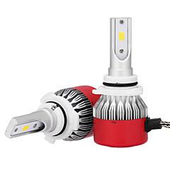 Недорогие Автомобильные фары-9006 Автомобиль Лампы 36W Интегрированный LED 3600lm Светодиодная лампа Налобный фонарь