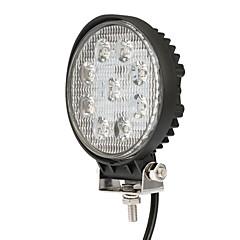 abordables Iluminación para Vehículos Industriales-Motocicleta Bombillas 27W LED Luz de Trabajo For Universal