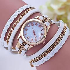 お買い得  レディース腕時計-女性用 ブレスレットウォッチ デジタル 金属 バンド ハンズ ブラック / 白 / レッド - グリーン ピンク 海軍