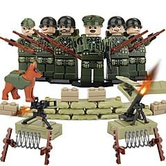 tanie -DILONG Klocki Figurki z klocków Zabawka edukacyjna Zabawki Wojownik Wojskowy Nie określony Sztuk