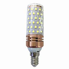 halpa LED-lamput-15W 700-800 lm E14 LED-maissilamput T 78 ledit SMD 2835 Lämmin valkoinen Valkoinen AC 220V