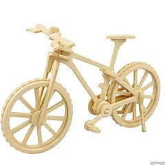 preiswerte -3D - Puzzle Holzpuzzle Holzmodelle Fahhrad 3D Heimwerken Holz Naturholz Unisex Geschenk