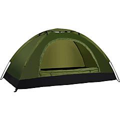 LINGNIU® 1人 テント シングル キャンプテント 1つのルーム 折り畳みテント 防水 保温 超軽量(UL) のために オックスフォード cm