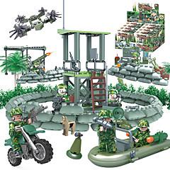 ieftine -GUDI 8009 Lego Minifigurine Jucării Educaționale Jucarii Rezervor Luptător Militar Ne Specificat Băieți 318 Bucăți