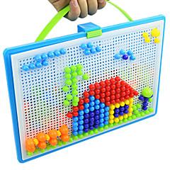 お買い得  子供のパズル-3Dパズル ジグソーパズル 大人も遊べるおもちゃ 旅行用おもちゃ モザイクキット 科学&観察おもちゃ ストレス解消グッズ 知育玩具 円形 長方形 ノベルティ柄 サーキュラー 球体 キノコ 3D ビーズ 6歳の上 5~7歳 8~13歳 14歳以上 3-6歳
