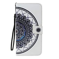 Чехол для Apple iphone 7 7 плюс держатель карты держатель кошелек горный хрусталь с подставкой флип-шаблона полное тело мандала твердая