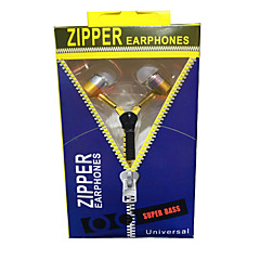 Zipper in ear earphone 3.5mm(EZbook3 pro special gifts,Please do not order separately)