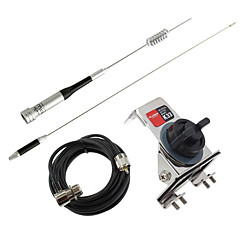 Mobil Schinken Radioantenne Diamant Antenne u / vmetal Autoantenne Halterung Diamant k-335m Antennenkabel