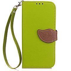 Etui Käyttötarkoitus Samsung Galaxy A5(2016) A3(2016) Lomapkko Korttikotelo Tuella Flip Kokonaan peittävä Yhtenäinen väri Kova PU-nahka