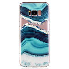 Χαμηλού Κόστους Galaxy S6 Θήκες / Καλύμματα-tok Για Samsung Galaxy S8 Plus S8 Με σχέδια Πίσω Κάλυμμα Τοπίο Μάρμαρο Μαλακή TPU για S8 Plus S8 S7 edge S7 S6 edge S6