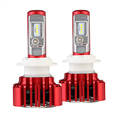 tanie Światła samochodowe-Nighteye 2szt / zestaw reflektory samochodowe h7 led auto żarówka 60w 8000lm samochody reflektory 6000k 12v led blub h7 led światła