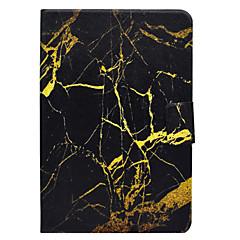 tanie Galaxy Tab 4 10.1 Etui / Pokrowce-Pokrowiec na samsung galaxy tab t580 t560 wzór marmuru pu materiał skórzany płaski pokrowiec ochronny t550 t530 t350 t330 t280
