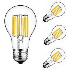 10W E27 LED Filament Bulbs A60(A19) 10 leds COB Decorative Warm White Cold White 900lm 2700-6500K AC 175-265V