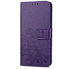 voordelige Hoesjes / covers voor Huawei-Hoesje voor huawei p10 lite p10 plus pu lederen portemonnee hoesje met handtas hoesje voor huawei p10 p8 lite (2017) g7 p8 lite p8 p9 plus