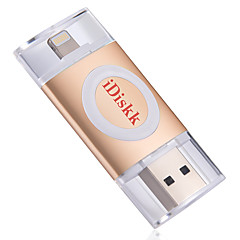 Idiskk u002 32g otg usb 2.0 bliksem gecodeerde mfi gecertificeerde flash drive u schijf voor iphone ipad ipod