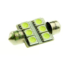 cheap -36mm Car Light Bulbs SMD 5050 100lm 6 LED Interior Lights For universal