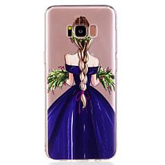 billige Galaxy S6 Edge Etuier-Etui Til Samsung Galaxy S8 Plus S8 Mønster Bagcover Sexet kvinde Blødt TPU for S8 Plus S8 S7 edge S7 S6 edge S6