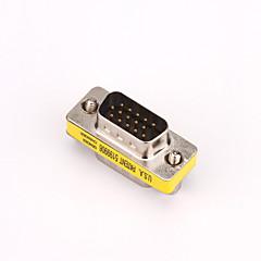 voordelige VGA-VGA Adapter, VGA to VGA Adapter Mannelijk - Mannelijk