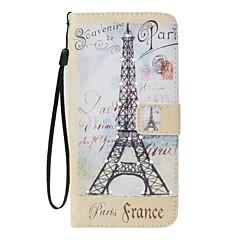Чехол для Apple iphone 7 7 плюс держатель карты держатель кошелек горный хрусталь с подставкой флип-узор полное тело Эйфелева башня