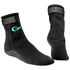 YON SUB Neoprén zoknik Férfi Női Melegen tartani Csúszásgátló Állítható méret 3mm Vastag Sport Sportruházat Búvárkodás Szörfözés