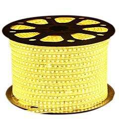 olcso -72W LED-es szalagfények 6950-7150 lm AC 220 V 5 m 600 led Meleg fehér Fehér Kék