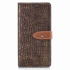 Недорогие Чехлы и кейсы для Sony-Кейс для Назначение Sony Бумажник для карт Кошелек Флип Магнитный Чехол Сплошной цвет Твердый Кожа PU для Sony Xperia XZ Sony Xperia XA1