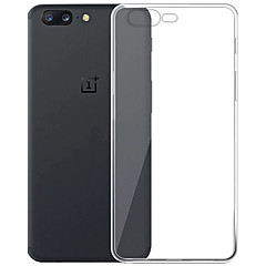 ASLING Case For OnePlus 5 Ultra-thin Case Cover Transparent Back Cover Case Transparent Soft TPU