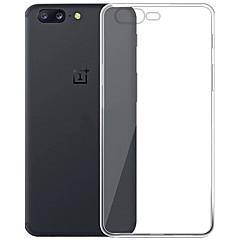 お買い得  その他のケース-ケース 用途 OnePlus クリア バックカバー クリア ソフト TPU のために One Plus 5