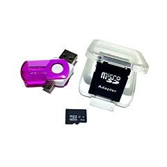 hesapli -1 usb otg kart okuyucu mikro usb otg 2 ile 4gb microsdhc tf hafıza kartı