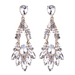 Dames Druppel oorbellen Modieus Opvallende sieraden Legering Geometrische vorm Drop Sieraden Voor Bruiloft Feest