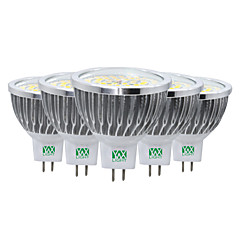 YWXLight® 7W LED Spotlight MR16 48 SMD 2835 600-700 lm Warm White Cold White Natural White Decorative AC/DC 12 V