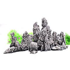 Akvaryum Dekorasyonu Kayalar Reçine