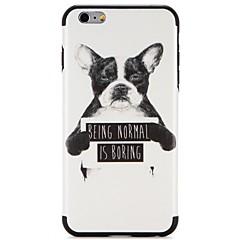 Περίπτωση για Apple iphone 7 plus iphone 7 κάλυψη μοτίβο πίσω κάλυψη περίπτωση λέξη σκυλί / φράση μαλακό tpu για iphone 6s plus iphone 6