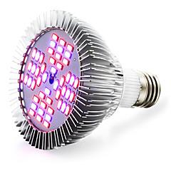 お買い得  LED 電球-1個 13 W 2500-3200LM E26 / E27 成長する電球 48 LEDビーズ SMD 5730 レッド / ブルー 85-265 V / 1個 / RoHs / FCC