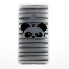 Чехол для huawei p8 lite (2017) p10 чехол для телефона полосатый панда шаблон 3d рельефный молочный материал для телефона tpu для huawei