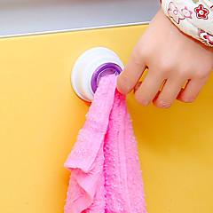 abordables Almacenamiento para Baño y Colada-El plastico Bonito Viaje Cocina creativa Gadget Auto-Adhesivas Casa Organización, 1 juego Ganchos de Ventosa Ganchos Nuevos Ganchos de