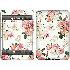 Skin Stickers For iPad Pro 12.9''  Scratch Proof Anti-Fingerprint PVC White Flower Pattern Body Sticker 2.5D Curved edge Pattern iPad Pro 12.9''