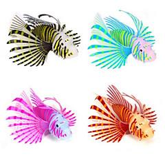 halpa Akvaariokoristeet-Akvaario Sisustus Keinotekoinen kala Loistava Silikoni