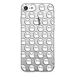 Для корпуса телефона 7plus прозрачный узор задняя крышка чехол мультфильм Хэллоуин мягкий tpu для iphone 7 6splus 6plus 6 6s 5 5s se
