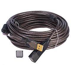 preiswerte Kabel & Adapter-USB 2.0 Verlängerungskabel, USB 2.0 to USB 2.0 Verlängerungskabel Male - Female 10.0M (30Ft)